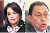 Roxana Baldetti y Mauricio López acusados de narcotráfico en EE. UU.
