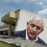 Intervendrán quirúrgicamente a Otto Pérez Molina