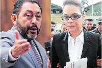 López Bonilla y Roxana Baldetti, con más procesos en los tribunales