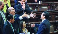 Diputados Taracena y Galdámez se pelean de nuevo en el Congreso [VIDEO]