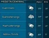 Clima Nacional octubre 18, miércoles