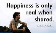 Rincón Positivo de Transdoc - La Felicidad es real solo cuando se Comparte