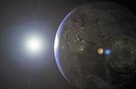 La 'Estrella de la Humanidad' entra en la órbita de la Tierra