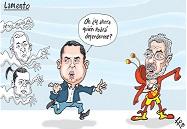 Caricaturas Nacionales febrero 15, jueves