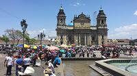 Manifestantes de CODECA inician retiro de Plaza de la Constitución