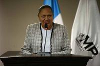 Fiscal General María Consuelo Porras toma posesión del cargo