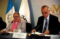 Conferencia de prensa por financiamiento electoral ilícito