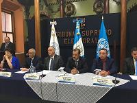 Firman convenio para fiscalizar finanzas de Partidos Políticos
