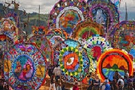 Festival Ecológico de Barriletes Gigantes en Santiago Sacatepéquez