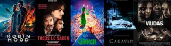 Cartelera de Cines Guatemala del 30 de noviembre al 07 de diciembre 2018