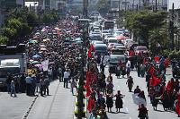 Finaliza jornada de manifestaciones