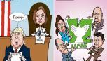 Caricaturas Nacionales Febrero 06, jueves