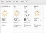 Clima Nacional Febrero 17, lunes