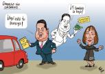 Caricaturas Nacionales Junio 25, Jueves