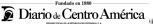 Sumario Diario De Centro América Agosto 10, Martes
